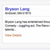 Bryson Lang Featured Entertainer on Decidio.com